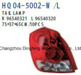 Chevrolet Aveo Kalos 가족 택시 2005년 (96540321 96540320 96540269 96540268)를 위한 고품질 뒤 램프