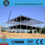 プレハブの鉄骨構造の倉庫(TRD-005)