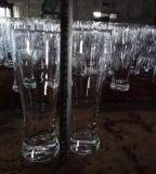 색깔 살포 맥주 컵 공이치기용수철 유리 그릇 Sdy-F06898를 가진 유리제 컵