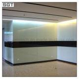 5-12mm decoración pintada en blanco Ultra transparente de vidrio lacado