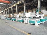 회전 목마를 가진 목제 절단기 또는 목제 CNC 대패 기계