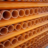 오렌지 Hot Water Supply를 위한 50mm CPVC Pipe Tube