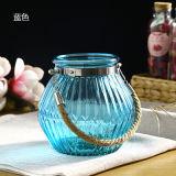 Diamond et bouteille de verre rondes Vase en verre pour la décoration
