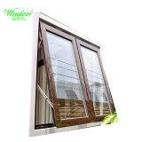 5mm Tempered Glass UPVC Window를 가진 집 Decorate PVC Window Plastic Swing Window Sliding Vinyl Window
