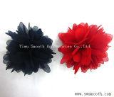 Mode de personnalisation de mousseline de soie Fleurs multicolores en dentelle décorative accessoires du vêtement