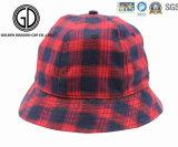 Diseño moderno de la manera Sombrero de calidad superior del cubo de las rayas verticales
