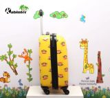 2つの車輪が付いているカスタマイズされたロゴのトロリー荷物の子供パターン学校の荷物