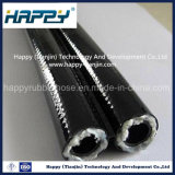 Fibra de alta presión de resina de caucho trenzado manguera R8