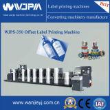 Machine d'impression intermittente d'étiquette de décalage d'alimentation de bobine (WJPS-350)