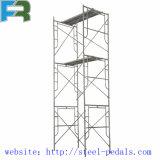 Échafaudage de portique galvanisé par 1219*1700 pour la construction