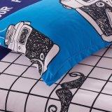 Barato preço impresso roupa de Conjunto de tampa de manta de poliéster