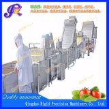 Máquinas para processamento de produtos hortícolas, lavagem, corte a linha de Processamento de Embalagens
