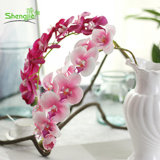 Горячие продукты шелк искусственного бабочка Орхидея Цветы на свадьбу дома