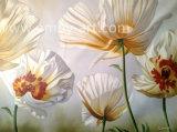Réaliste des peintures faites à la main d'huile de fleur Photo sur toile pour la décoration d'accueil