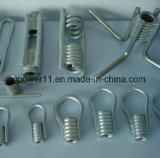 Inserto adatto della bobina del puntale del hardware della costruzione placcato zinco concreto