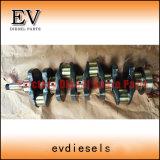 As peças do motor do carro elevador DP22 DP23 H20 H25 K21 K25 Conjunto do Rolamento Principal do Virabrequim
