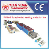 Spray-Kleber-Bindung-Polyester-Füllmaterial-Auflage-Produktionszweig (PWJM-1)