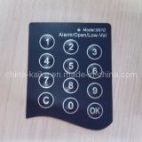 Interruptor do teclado da membrana de 4 chaves da disposição 16