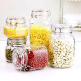 De Container van het Glas van de Verbinding van de Klem van het Metaal van de Opslag van het voedsel