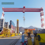 China Fabricante de grúa de pórtico Proyecto viga doble