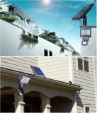 PIR를 가진 태양 스포트라이트. 운동 측정기 옥외 LED 태양 벽 빛