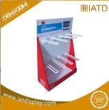 Expositor de estante de cartón ondulado Mostrar bandeja de caja de cartón piso