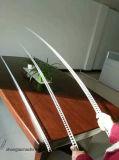 Fuera de vinilo de PVC de la guardia de la esquina de la máquina para la protección de la pared