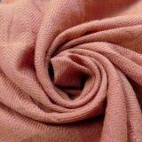 tela do jacquard de 20%Polyester 80%Cotton para o desgaste de lazer da camisa
