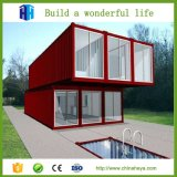 Planes residenciales modulares prefabricados del edificio del envase de la estructura de acero