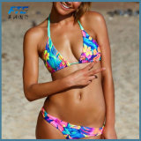 폴리에스테 여자의 형식 비키니 수영복 수영복 바닷가 착용