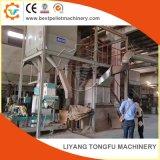 Completan la línea de producción de pellets de madera para la venta Planta de Biomasa