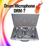 Комплект микрофона барабанчика музыкальной аппаратуры DRM-7