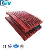 L'usura del piatto d'acciaio del manganese di Shanbao parte la vendita calda