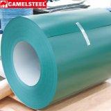 Bobina de aço galvanizada Prepainted do material de telhadura