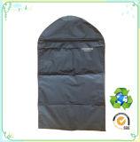 Fibra di poliestere riciclabile su ordinazione, sacchetto impaccante del vestito non tessuto del sacchetto, sacchetto di indumento non tessuto dei pp