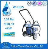 Producto de limpieza de discos doméstico de la alta presión de la arandela del coche del color azul portable