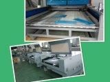 Máquina de corte a laser populares de acrílico, MDF, tecidos, couro