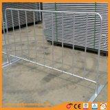 Barreira do metal da barreira de segurança do tráfego da barricada da barreira do controle de multidão