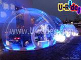 Beleuchtetes aufblasbares Luftblase Abdeckung-Zelt für das im Freienkampieren