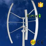 2kw haute efficacité verticale pour utilisation à domicile de l'éolienne