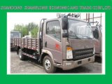 HOWO de Vrachtwagen van de Lading van de Lichte Vrachtwagen 4X2 102PS 4t
