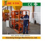 Machine creuse concrète semi-automatique de bloc de &Solid/de fabrication de brique (QTJ4-26A)