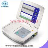 Monitor de monitor de pacientes com vários parâmetros