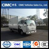 新しい冷凍のトラックEuro5のためのIsuzu Kv600 4X2によって冷やされているヴァンTruck