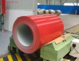 Prepainted Gi bobinas de acero / PPGI PPGL / hoja de acero galvanizado recubierto de color en la bobina