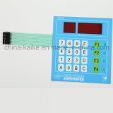 Táctil interruptor de membrana del panel en relieve botón matriz de la membrana del teclado