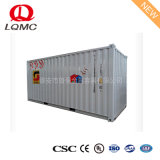 High Quality Two Compartments Mobile Petrol Station with ISO Certification