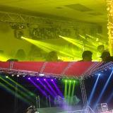 Träger-Punkt-Wäsche-bewegliches Hauptlicht des Nachtclub-10r 3in1 280W