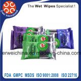 Toalhetes desinfectantes, limpeza úmida, Santized antibacteriana toalhetes húmidos