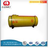 Serbatoio di combustibile sotterraneo dell'acciaio rivestito della plastica di rinforzo vetroresina